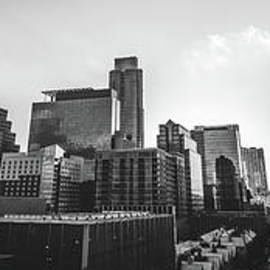 Paul Velgos - Austin Texas Black and White Panorama