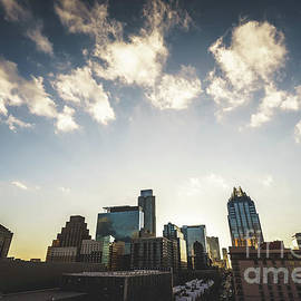 Paul Velgos - Austin Texas Downtown Buildings Photo