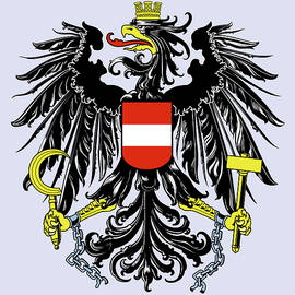 Austria Coat Of Arms by Movie Poster Prints