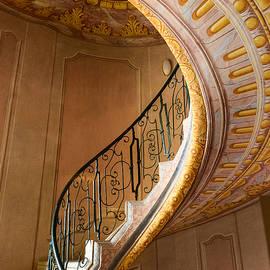 Austrian Stairway by John Johnson