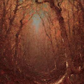 Sanford Robinson Gifford - Autumn, a Wood Path