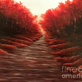 Autumn Ablaze by KJ Burk