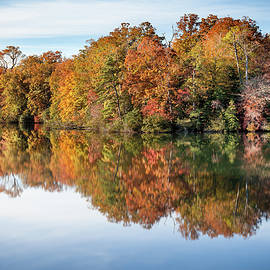 Autumn Along The Parkway by Lisa McStamp