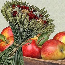 Autumn Apples 3 by Manfred Lutzius