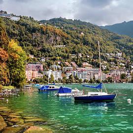 Carol Japp - Autumn Approaches in Montreux Switzerland