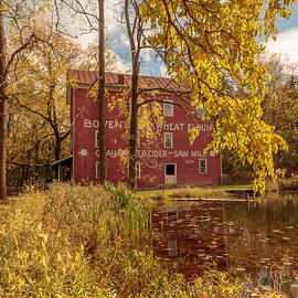 Autumn At Bowens Mills by Susan Rissi Tregoning