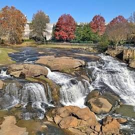 Gayle Miller - Autumn at Falls Park, Greenville, SC