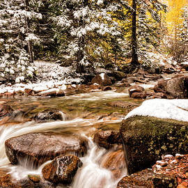 Autumn At Gore Creek 3 - Vail Colorado by Brian Harig