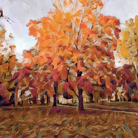 Susan Maxwell Schmidt - Autumn at Lincoln University