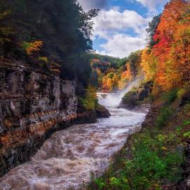 Mark Papke - Autumn At Lower Falls