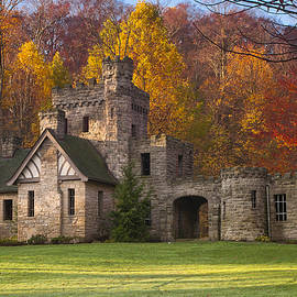 Autumn At Squire's Castle 1 by At Lands End Photography