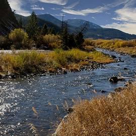 Dana Moyer - Autumn at the boulder river