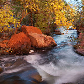Autumn at West Clear Creek, Arizona, I by Dave Wilson