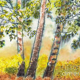 Conni Schaftenaar - Autumn Birch Trees
