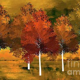 KaFra Art - Autumn Birch Trees