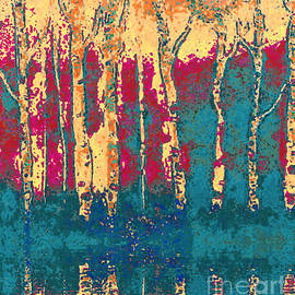 Holly Martinson - Autumn Birches