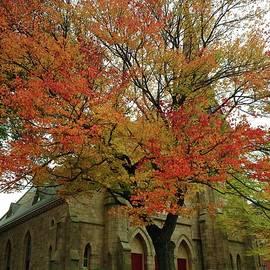 Autumn Church by Heather Rose