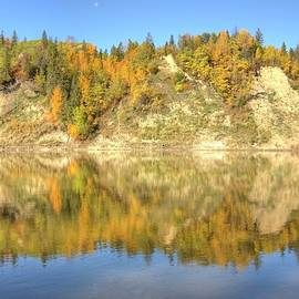 Jim Sauchyn - Autumn Colors on the North Saskatchewan River