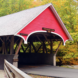 James Kirkikis - Autumn Covered Bridge