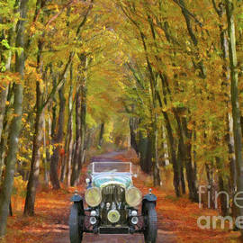 L Wright - Autumn Drive Through The Forest