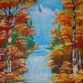 Collin A Clarke - Autumn Falls