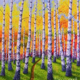 Veikko Suikkanen - Autumn forest 2
