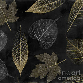 Mindy Sommers - Autumn Gold Leaf Pattern