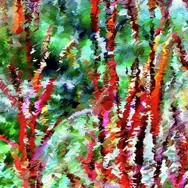 Autumn Grasses Abstract by Dana Roper
