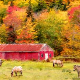 Ken Morris - Autumn Horses