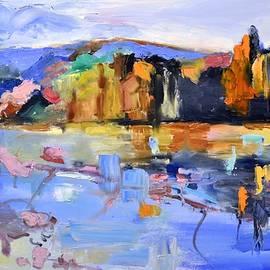 Donna Tuten - Autumn Impressions Oil Painting
