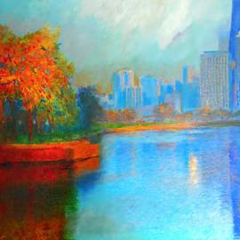 Autumn in Chicago by Michael Durst