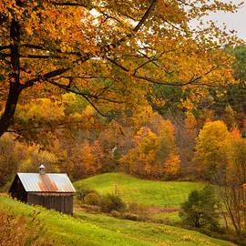 Joann Vitali - Autumn in New England - Sugarhouse and Barns in Fall