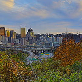 Autumn in Pittsburgh  by Mark Milar