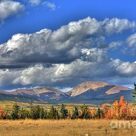 Autumn in the Rockies by Tony Baca