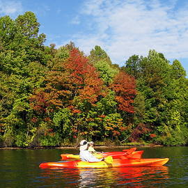 Sally Weigand - Autumn Kayaking