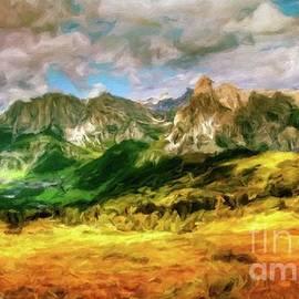 Autumn Landscape by Sarah Kirk - Sarah Kirk