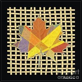 Autumn leaf by Michael Mirijan