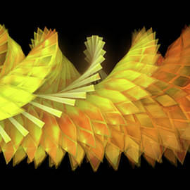 Autumn Leaves - Composition 2.3 by Jules Gompertz