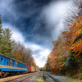 David Patterson - Autumn on the Tracks