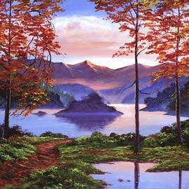 AUTUMN PERFECTLY STILL - David Lloyd Glover