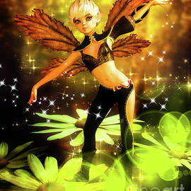 Autumn Pixie by Alicia Hollinger