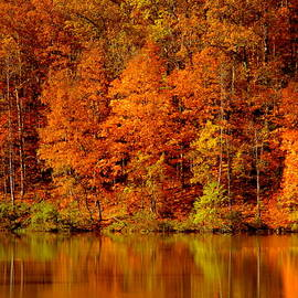 Autumn Reflections by Arlane Crump