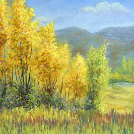 David King - Autumn River Valley