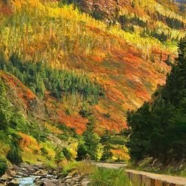 Dan Sproul - Autumn Road In Colorado