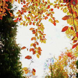 Ericamaxine Price - Autumn Scene 100 - Painting