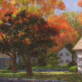 Autumn Shadow And Light by Susan Savad