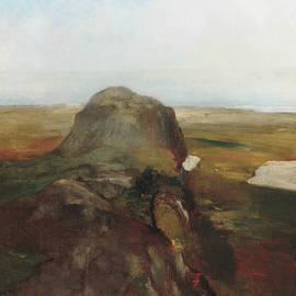 Autumn Study, View over Hanging Rock, Newport, R.I. - John La Farge