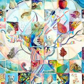 Autumn Tree Mosaic