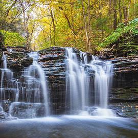 Xavier Ascanio - Autumn Waterfall