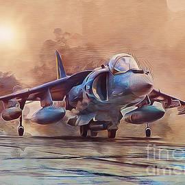 Ian Mitchell - AV-8B Harrier